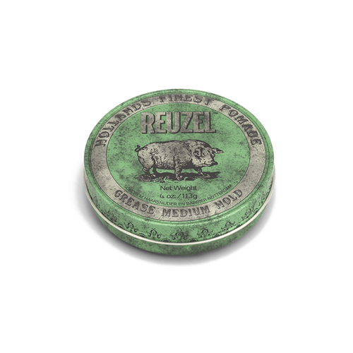 Green Pomade MEDIUM HOLD – MEDIUM SHINE – OIL BASED - Barber Ha