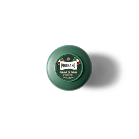 PRORASO GREEN SHAVING FOAM - EUCALYPTUS 10.6 OZ.