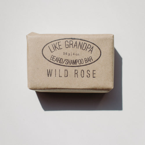 LG beard/shampoo bar Wild Rose - Barber Ha