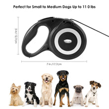 JolyJoy Retractable Dog Leash Heavy Duty Cord 26ft Extra Long, One Button Control & Tangle Free & Comfortable Grip for Dogs Up to 110LB