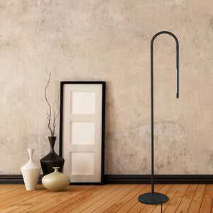 LED Modern Floor Lamps, Flexible Gooseneck Standing Reading Light W/Stable Base