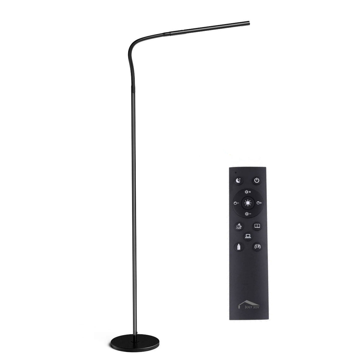 Joly Joy Floor Lamps For Living Room 12w Dimmable Flexible Gooseneck