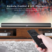 Bluetooth Soundbar, Joly Joy 40W Wireless Bluetooth 2.0 Channel Stereo
