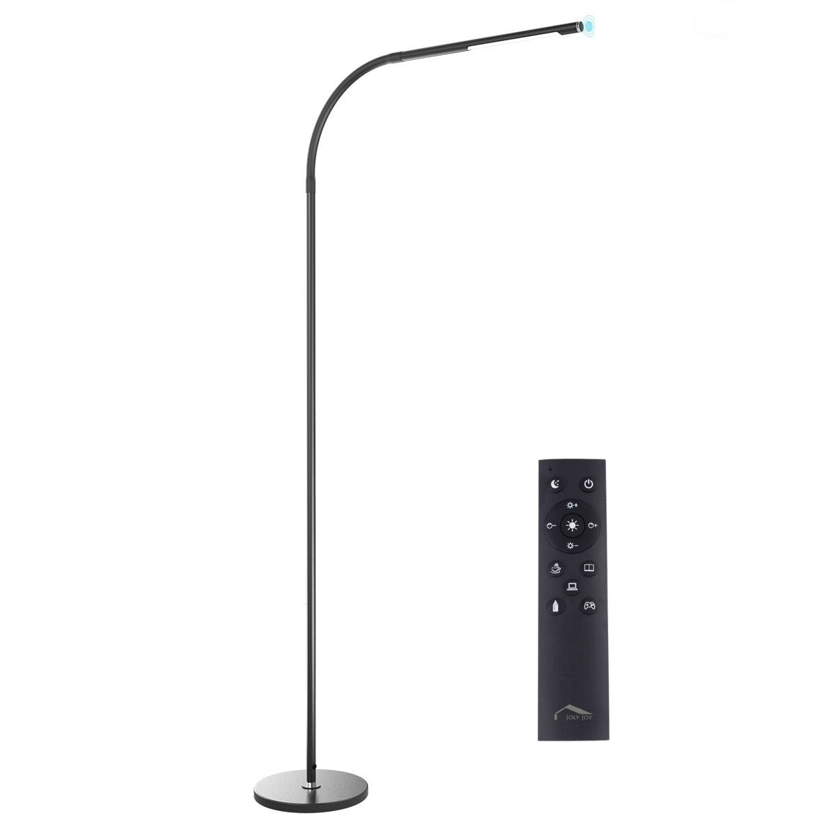 Led Modern Floor Lamps Flexible Gooseneck Standing Reading Light