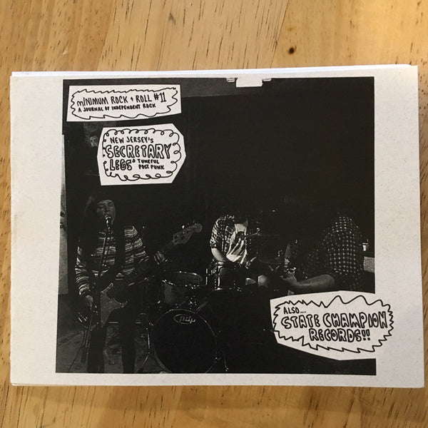 Minimum Rock + Roll - Issue #11 zine