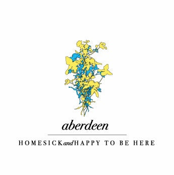 Aberdeen - Homesick And Happy To Be Here cd