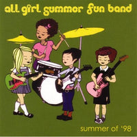 All Girl Summer Fun Band - Summer Of '98 cdep