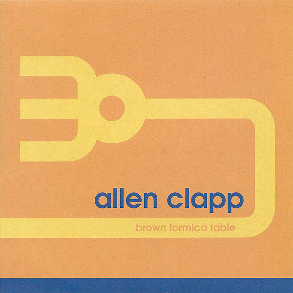 Clapp, Allen - Brown Formica Table 7""