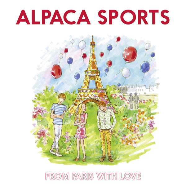 Alpaca Sports - From Paris With Love cd/lp