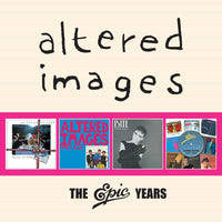 Altered Images - The Epic Years cd box