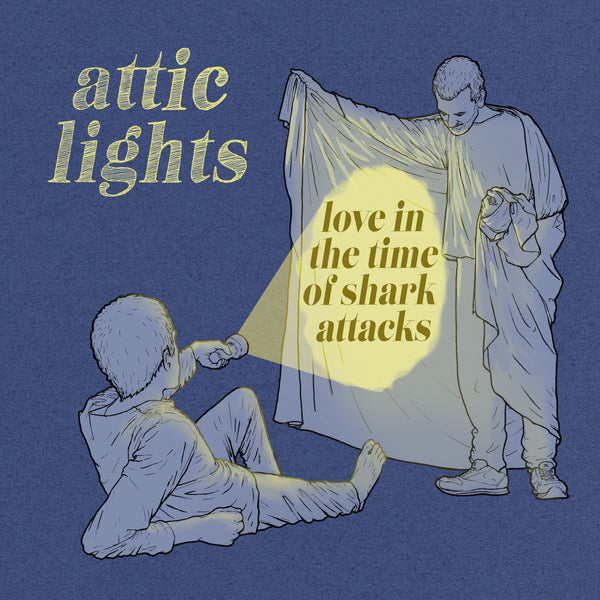 Attic Lights - Love In The Time Of Shark Attacks cd/lp