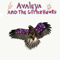 Avaleya And The Glitterhawks - Glitter Feather cdep
