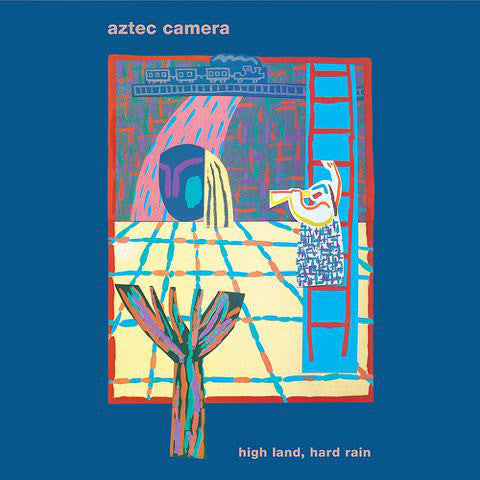 Aztec Camera - High Land, Hard Rain lp w/7""