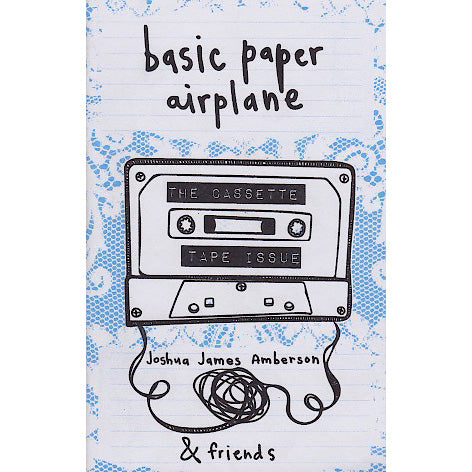 Basic Paper Airplane - Issue #13: The Cassette Tape Issue zine