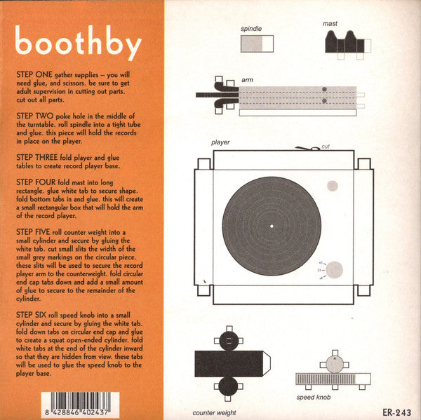 Boothby - Everybody Knows 7""