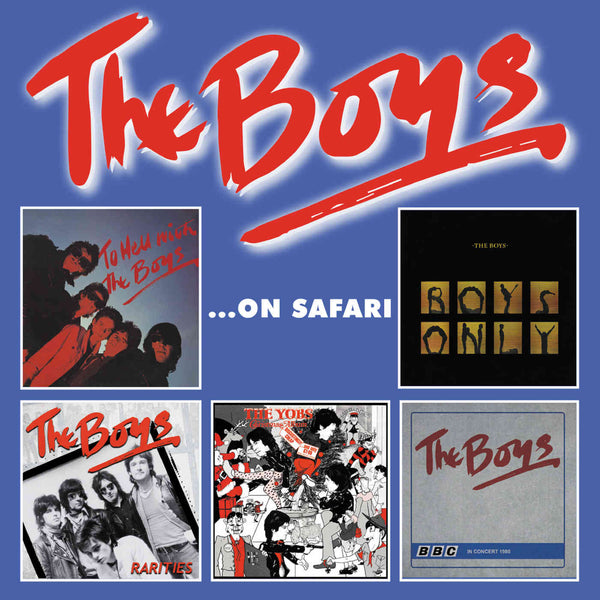Boys - The Boys… On Safari cd box