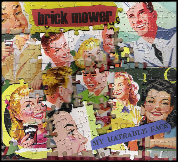 Brick Mower - My Hateable Face lp