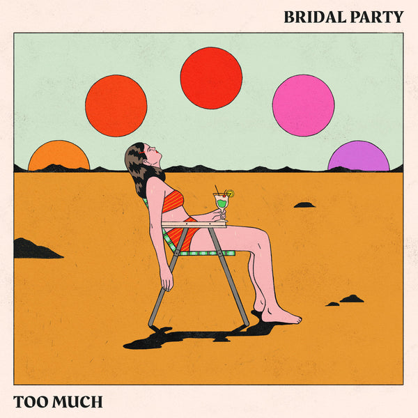 Bridal Party - Too Much lp
