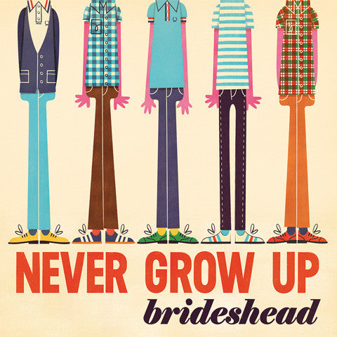 Brideshead - Never Grow Up cd/lp