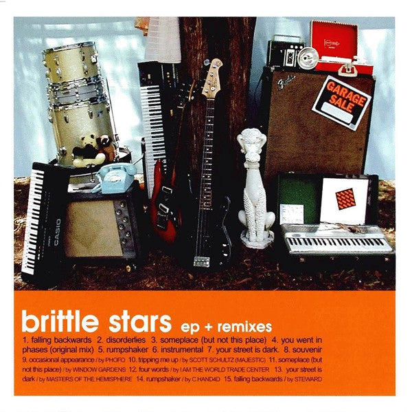 Brittle Stars - Garage Sale cd