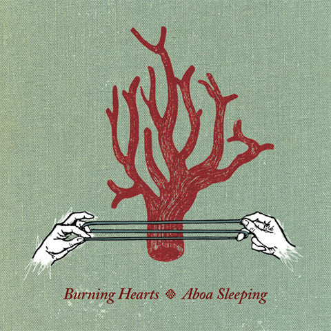 Burning Hearts - Aboa Sleeping cd