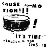 Cause Co-Motion! - It's Time! cd