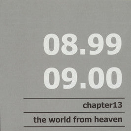 Chapter 13 - The World From Heaven cd