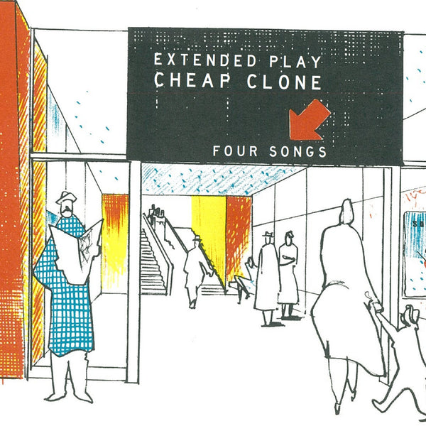 Cheap Clone - Barely Smile EP 7""