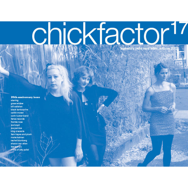 Chickfactor - Issue #17 zine