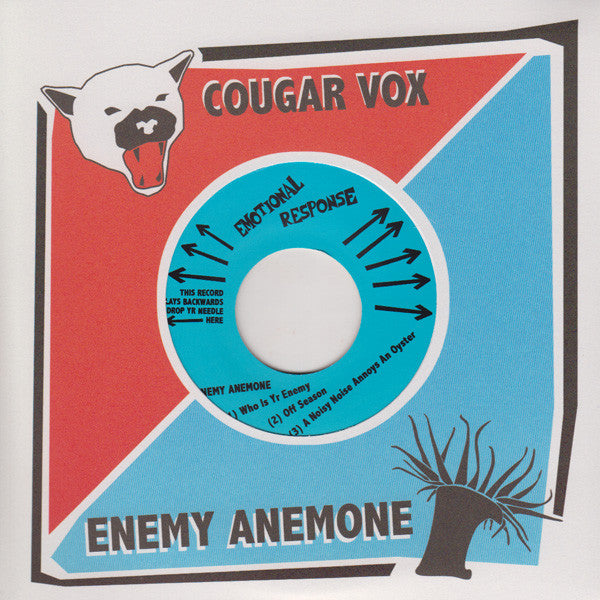 Cougar Vox / Enemy Anenome - split 7""