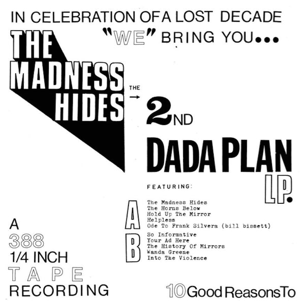 Dada Plan - The Madness Hides lp