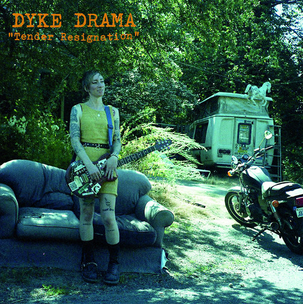 Dyke Drama - Tender Resignation lp