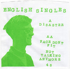 English Singles - Disaster 7""