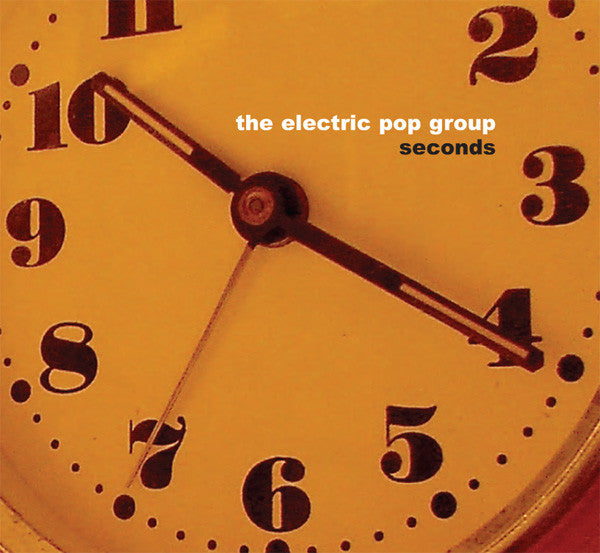 Electric Pop Group - Seconds cd