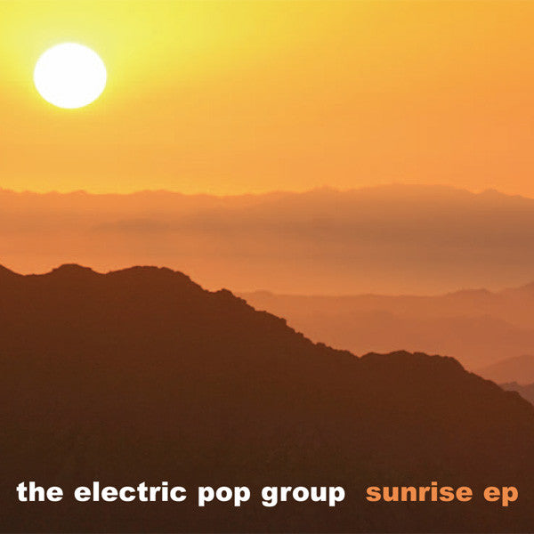 Electric Pop Group - Sunrise cdep