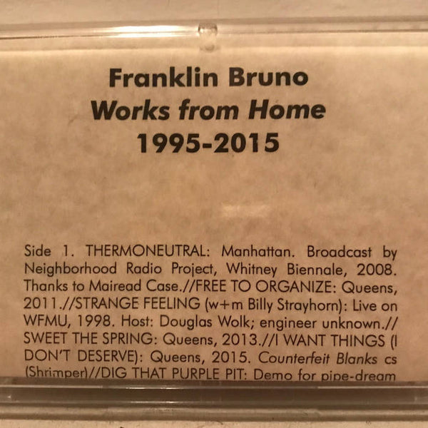 Bruno, Franklin - Works From Home 1995-2015 cs