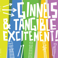 Ginnels / Tangible Excitement! - split cd/lp