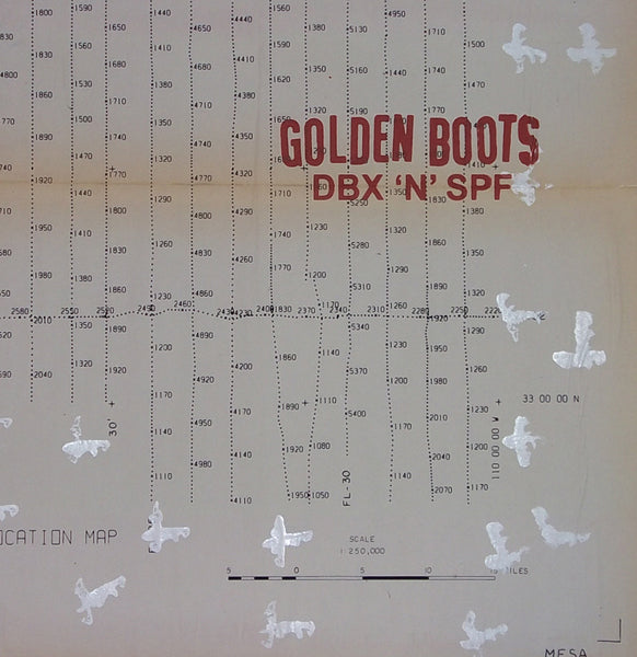 Golden Boots - DBX 'n' SPF lp