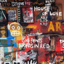 House Of Love - She Paints Words In Red cd