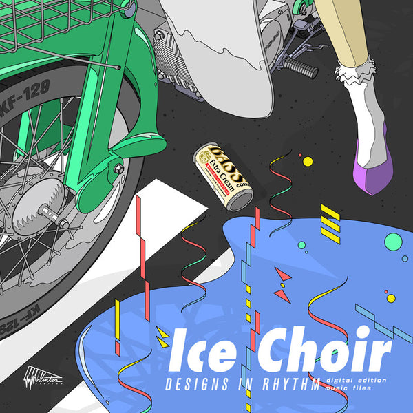 Ice Choir - Designs In Rhythm cd/lp