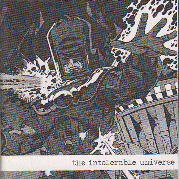 "Various - The Intolerable Universe zine w/3"" cd"