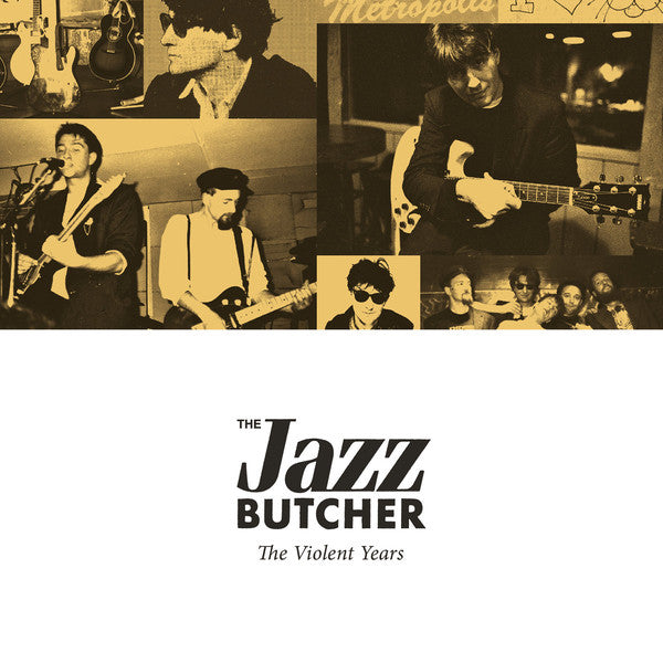Jazz Butcher - The Violent Years cd box