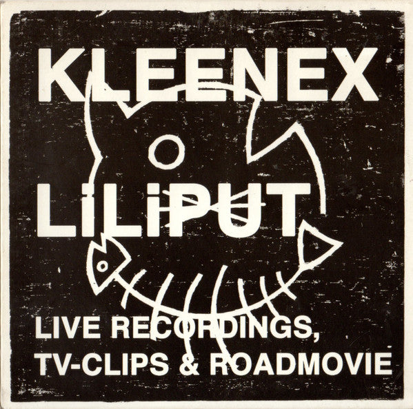 Kleenex / Liliput - Live Recordings, TV Clips & Road Movie cd w/dvd