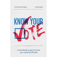 Know Your Vote - Issue #1 zine