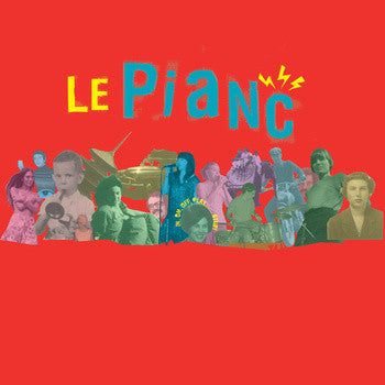 Le Pianc - In, On, Off, Play… Stop! EP 7""