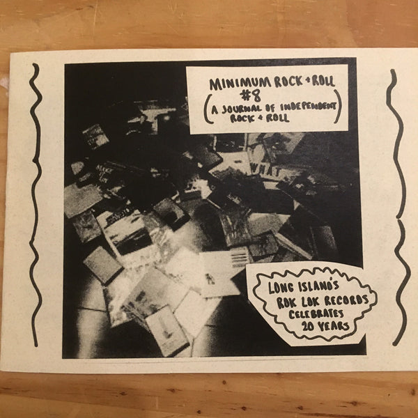 Minimum Rock + Roll - Issue #8 zine