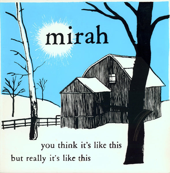 Mirah - You Think It's Like This But Really It's Like This dbl cd/dbl lp