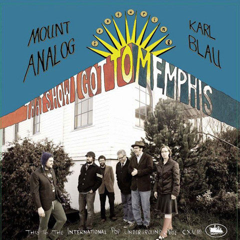 Mount Analog w/Karl Blau - That's How I Got To Memphis 7""