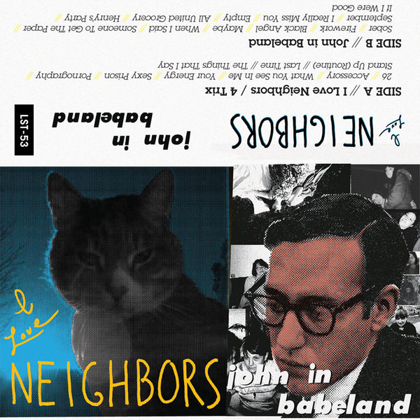 Neighbors - I Love Neighbors/John In Babeland cs
