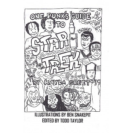 One Punk's Guide To Star Trek - Issue #1 zine
